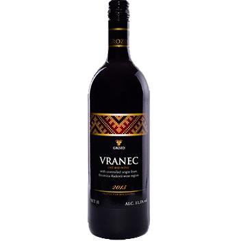 Macedonian wine vranec